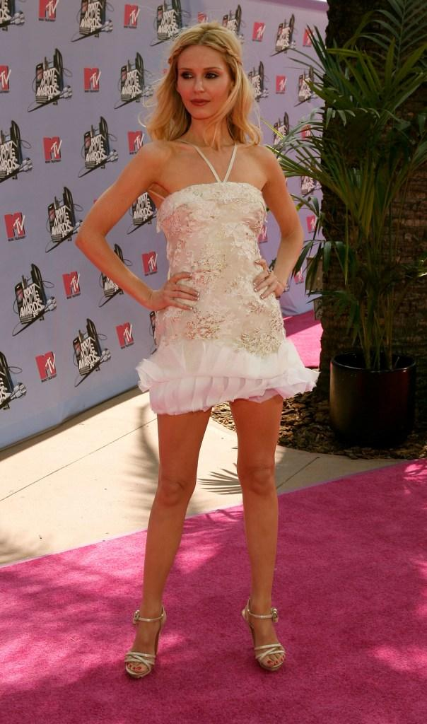 Vanessa Branch at the 2007 MTV Movie Awards.