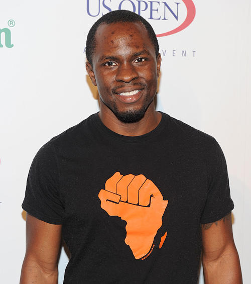 Gbenga Akinnagbe at the USTA and Heineken's 2010 US Open Player party.