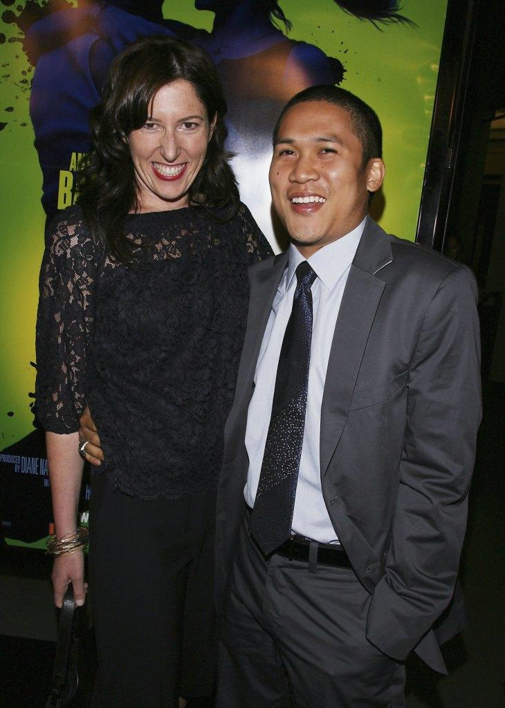 Director Liz Friedlander and Dante Basco at the screening of