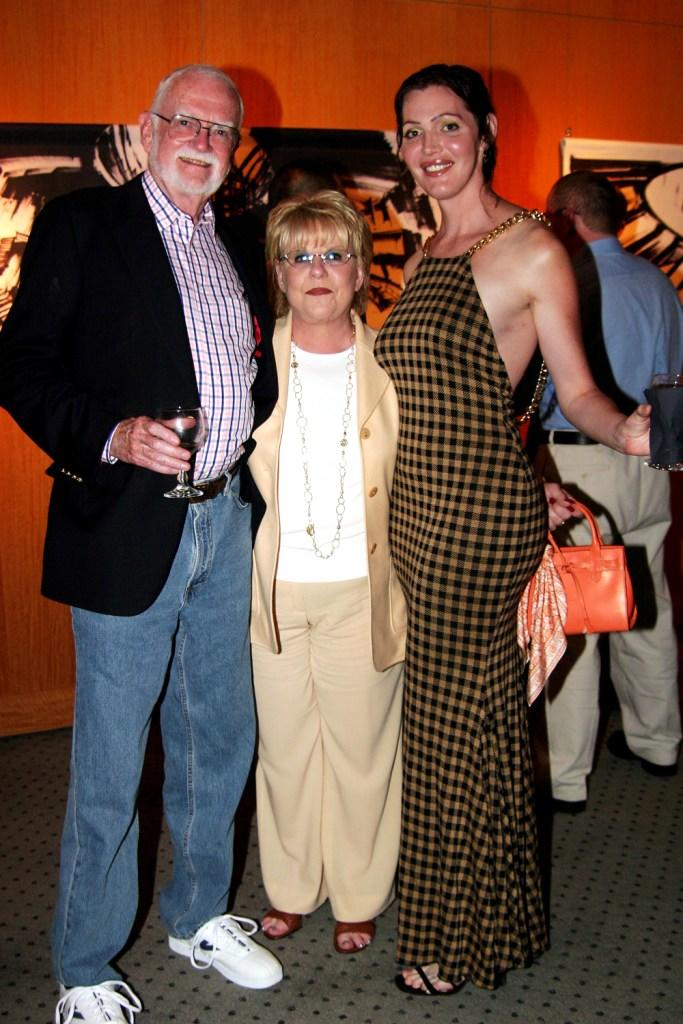 Director Frank Pierson, Helene Pierson and Calpernia Addams at the after party of the premiere of
