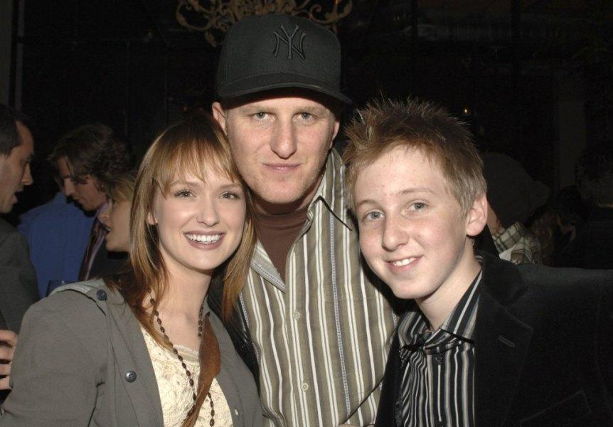 Kaylee Defer, Michael Rapaport and Dean Collins at the Fox Winter TCA Party.