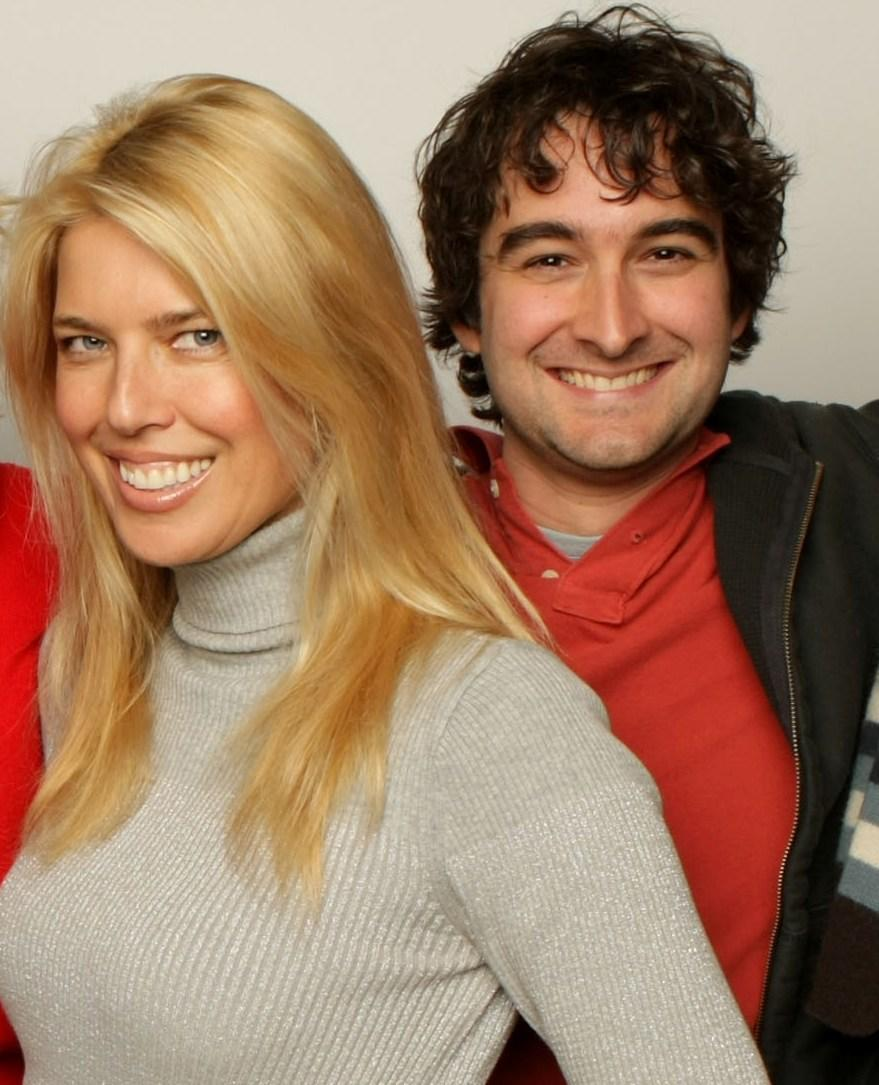 Elise Muller and Jay Duplass at the 2008 Sundance Film Festival.