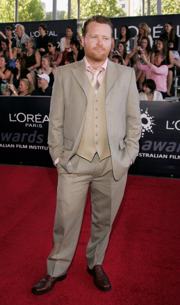 Anthony Hayes at the L'Oreal Paris 2006 AFI Awards.