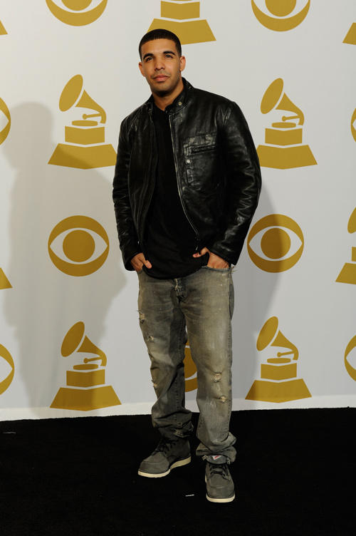 Aubrey Graham at the 52nd Annual GRAMMY Awards in California.