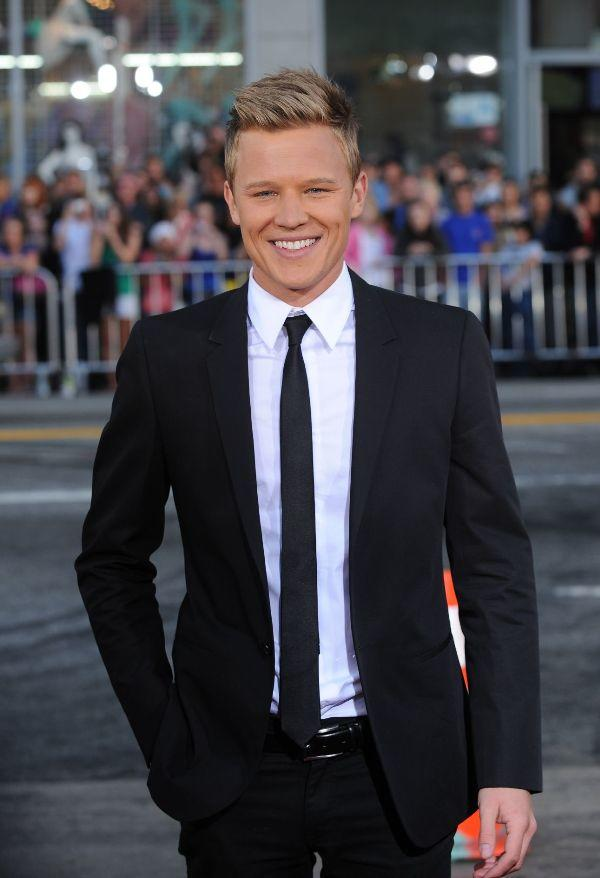 Chris Egan at the California premiere of