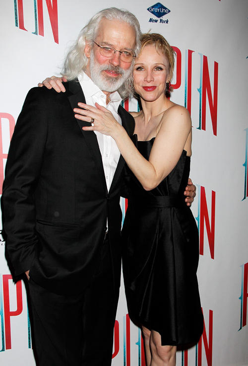 Terrence Mann and Charlotte d'Amboise at the after party of Broadway opening night of the