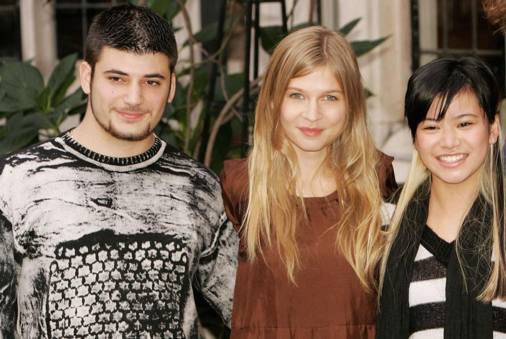 Stanislav Ianevski, Clemence Poesy and Katie Leung at the photocall of
