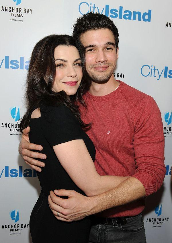 Julianna Margulies and Steven Strait at the California premiere of