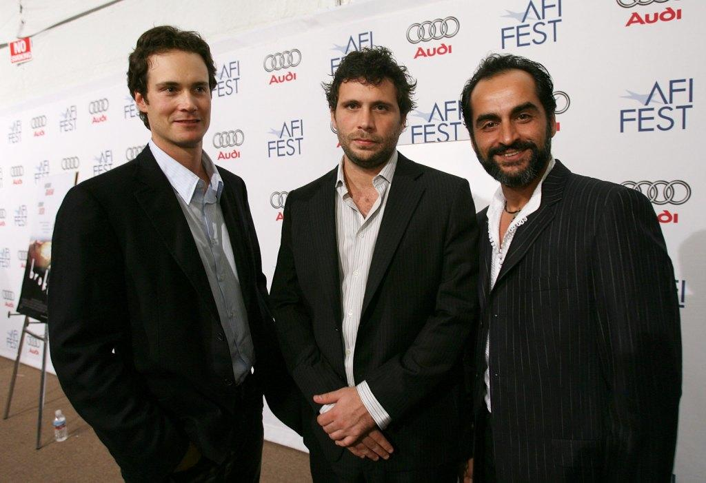 Randall Batinkoff, Jeremy Sisto and Navid Negahban at the world premiere party of