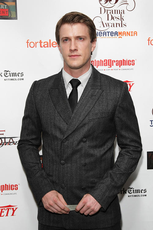 Patrick Heusinger at the 55th Annual Drama Desk Awards in New York.