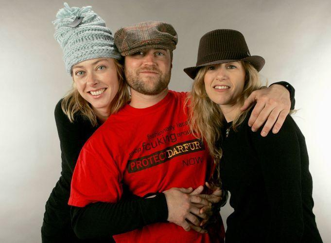 Annie Sundberg, Brian Steidle and Ricki Stern at the 2007 Sundance Film Festival.