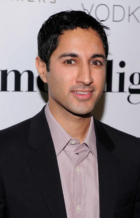 Maulik Pancholy at the premiere of