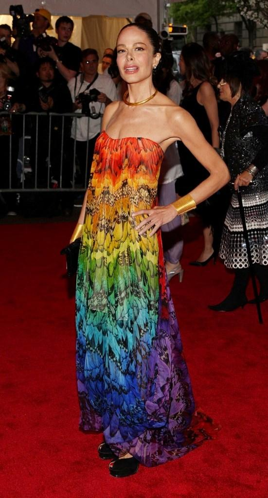Allison Sarofim at the Metropolitan Museum of Art Costume Institute Gala.