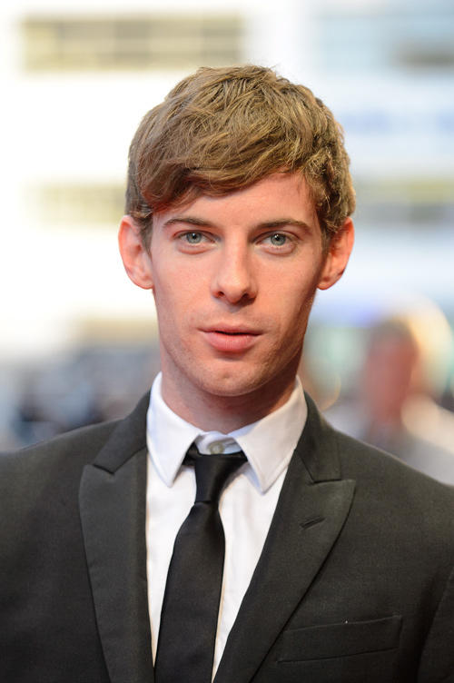 Luke Treadaway at the premiere of