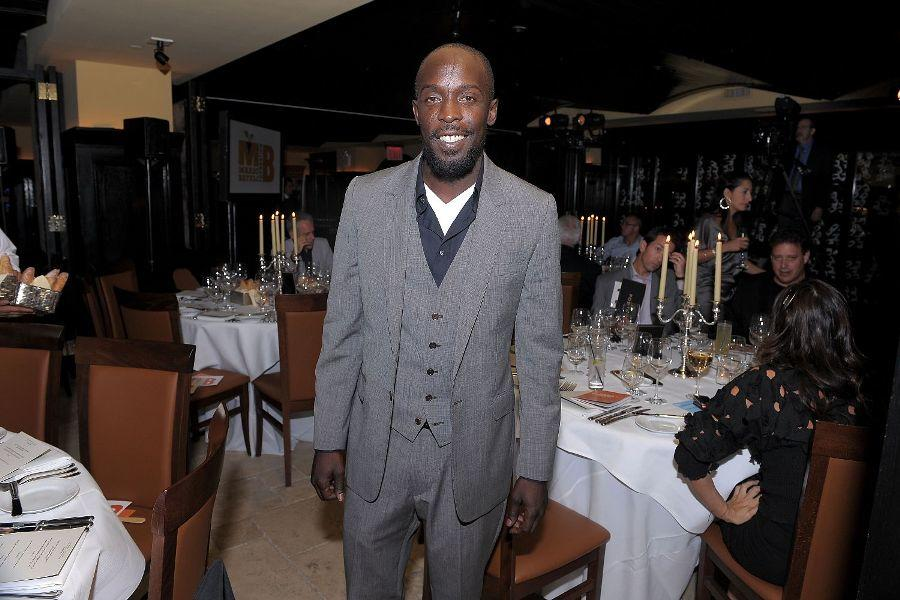 Michael K. Williams at the Night of Magic To Benefit The Mario Batali Foundation.