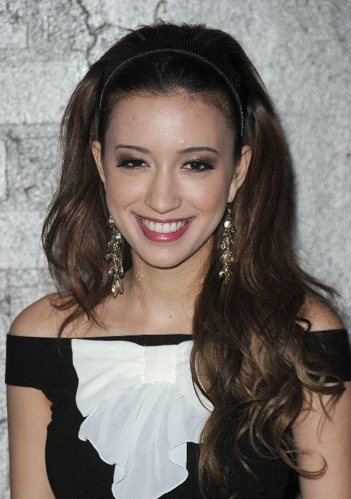 Christian Serratos at the Star Magazine's Young Hollywood Issue launch party.