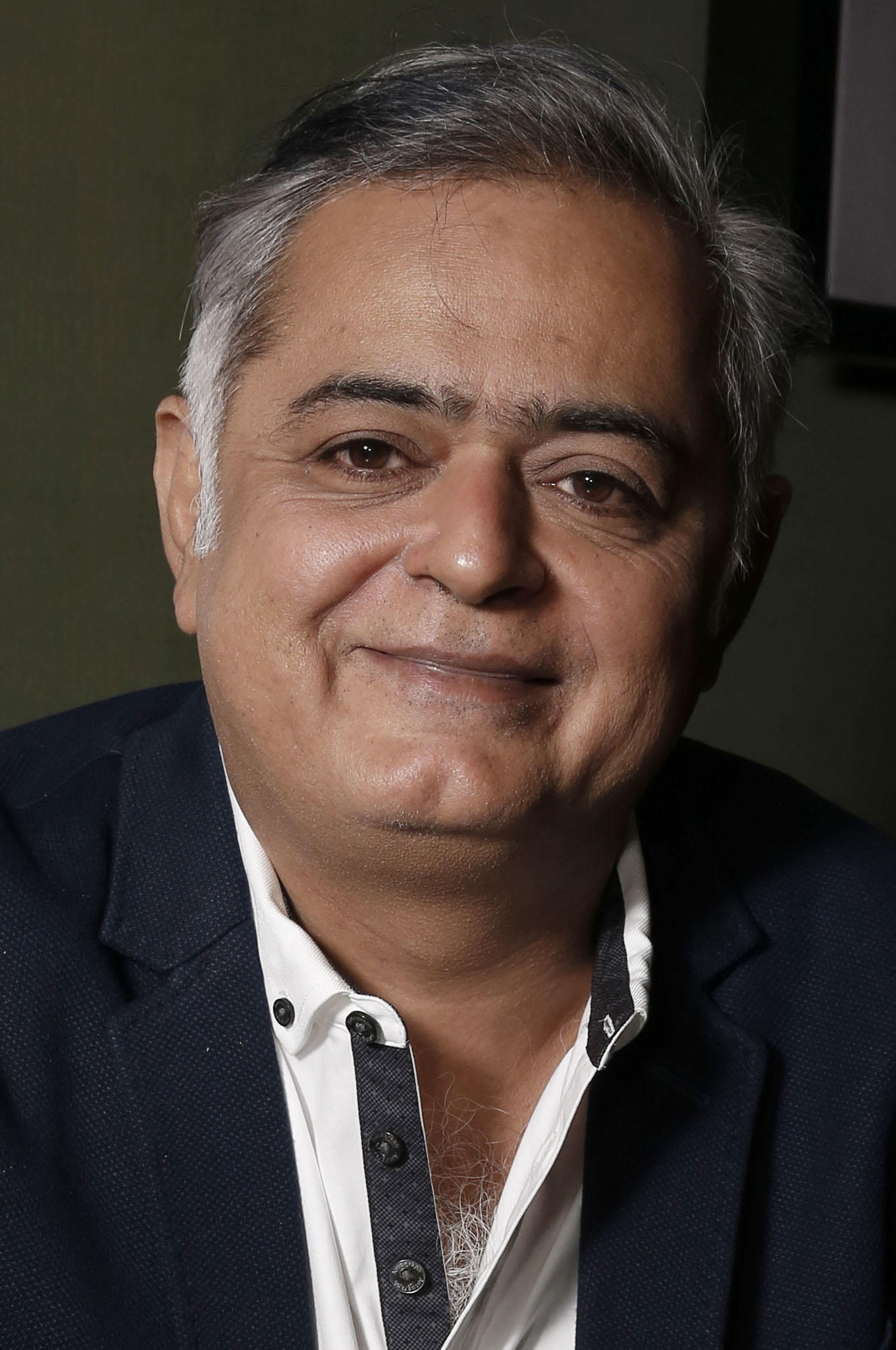 Hansal Mehta during the 2015 BFI London Film Festival.