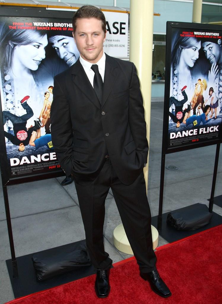 Ross Thomas at the premiere of