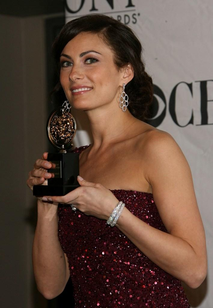Laura Benanti at the 62nd Annual Tony Awards.