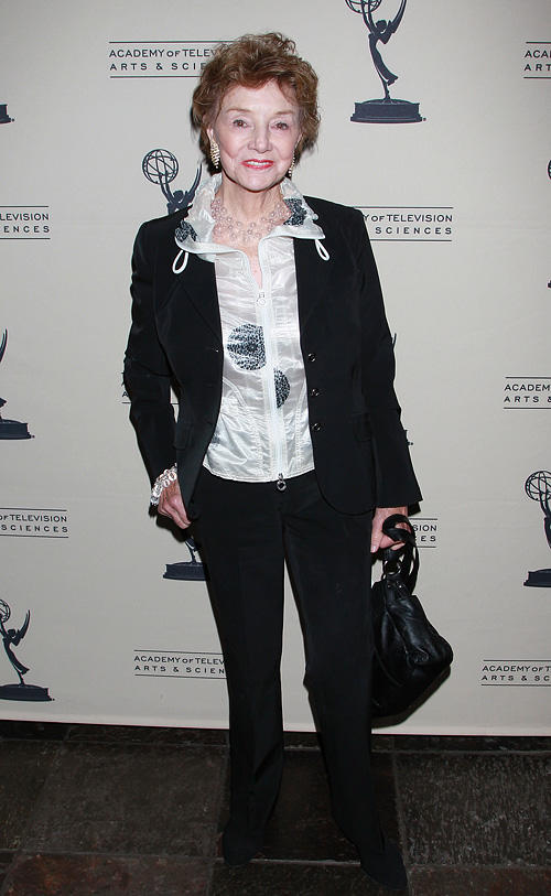 Peggy McCay at the Academy Of Television Arts & Sciences