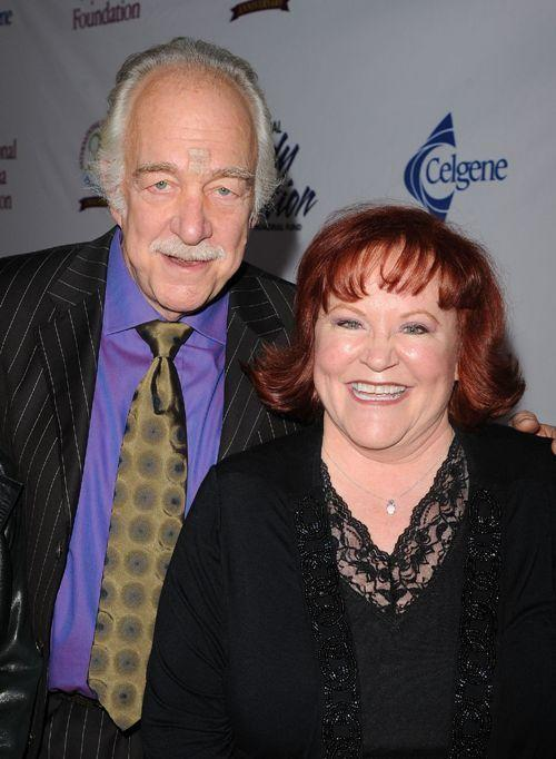 Howard Hesseman and Edie McClurg at the 4th Annual Comedy Celebration Benefiting the Peter Boyle Fund.