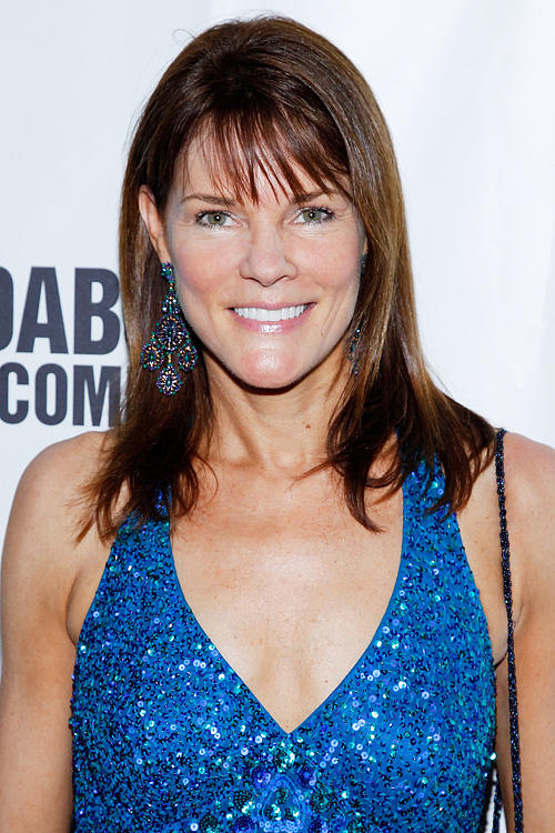 Carolyn McCormick at the Broadway opening night of