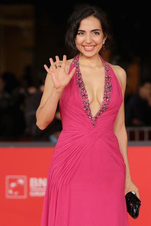 Tina Rodriguez at the premiere of