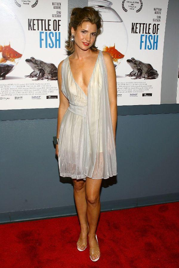Christy Scott Cashman at the screening of