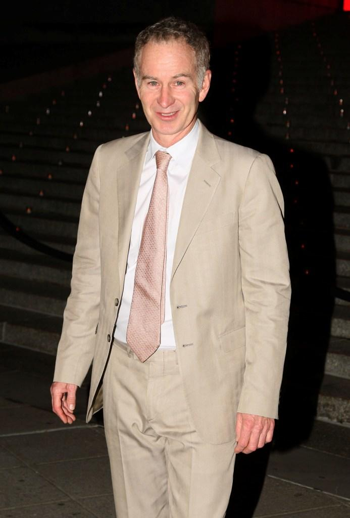 John McEnroe at the Vanity Fair party of 2009 Tribeca Film Festival.