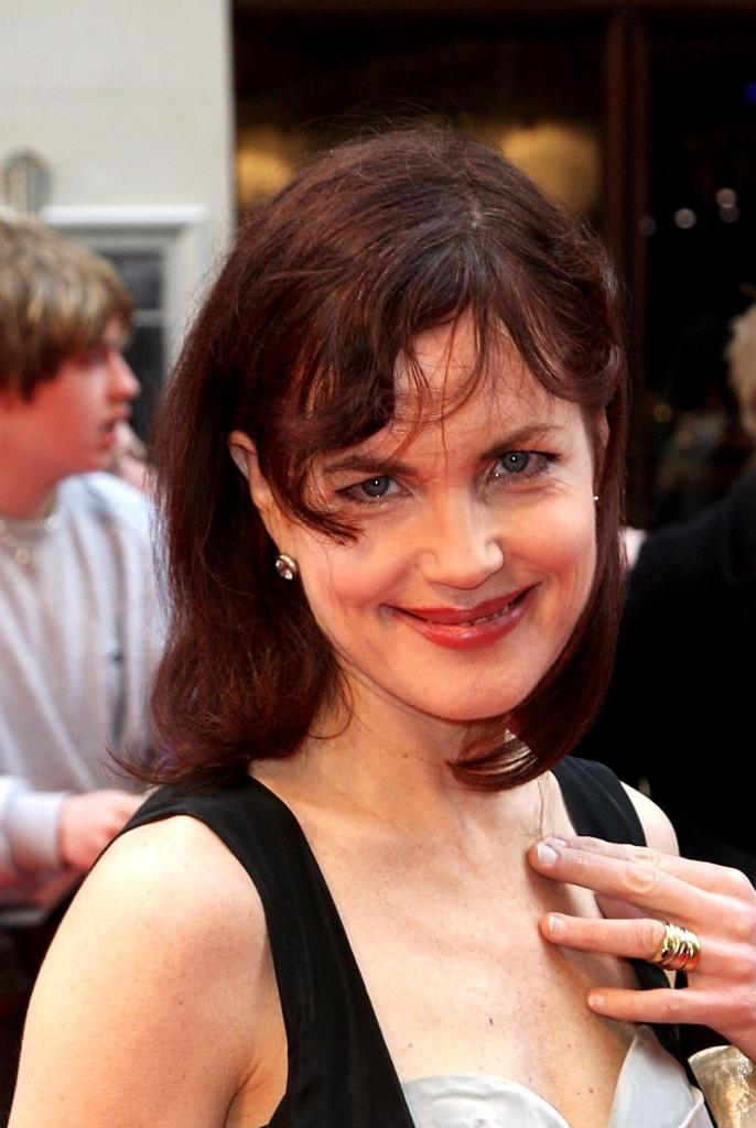 Elizabeth McGovern at the British Academy Television Awards 2008.