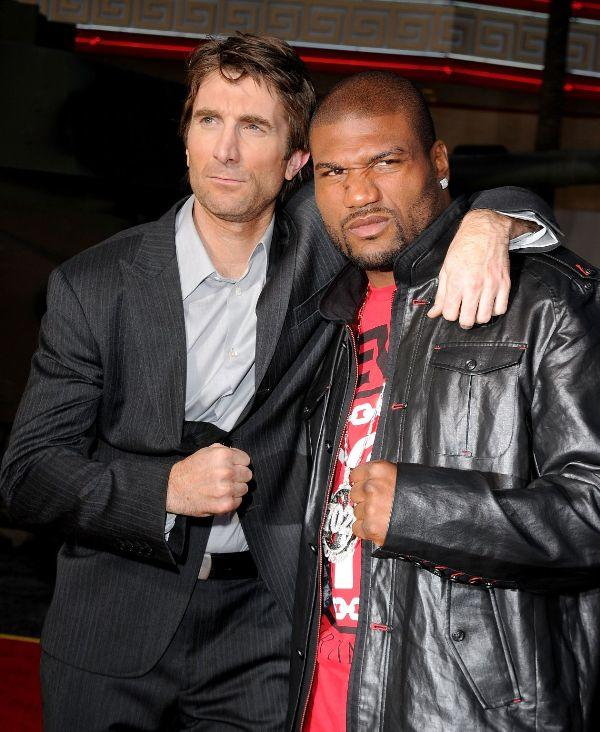Sharlto Copley and Quinton