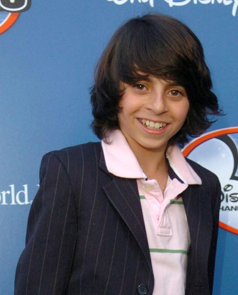Moises Arias at the Disney Channel Games 2007 - All Star Party.
