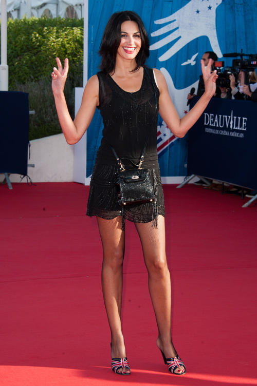 Helena Noguerra at the opening ceremony of the 38th Deauville American Film Festival.