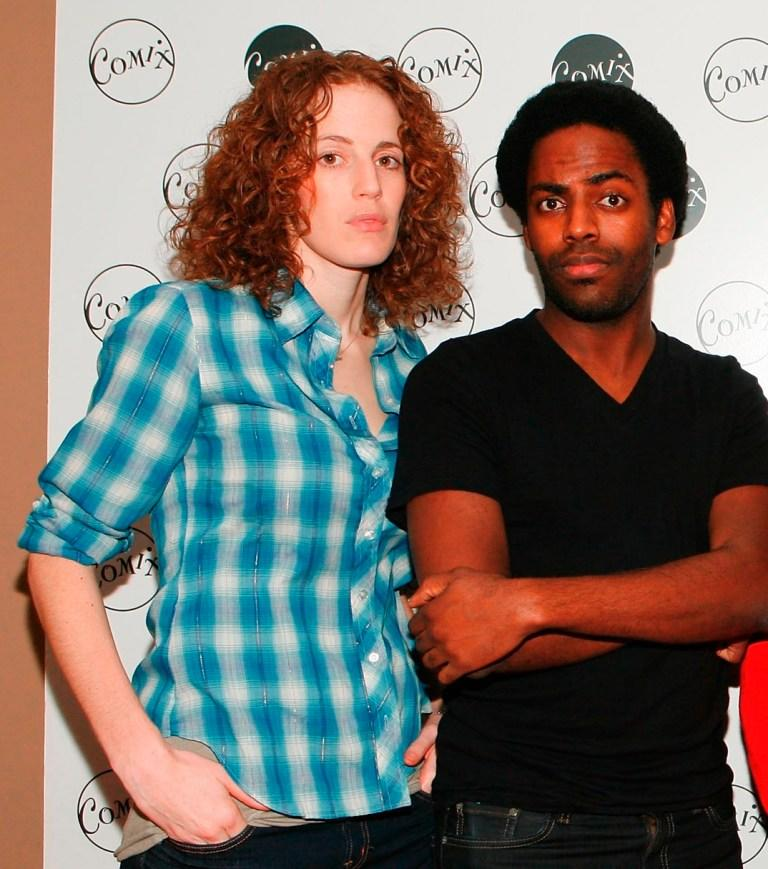 Morgan Murphy and Baron Vaughn at the Witstream.com Launch.