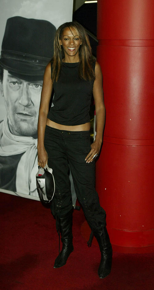 Judi Shekoni at the London premiere of