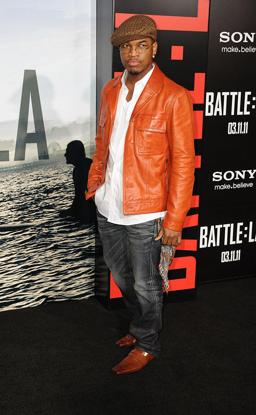 Ne-Yo at the California premiere of