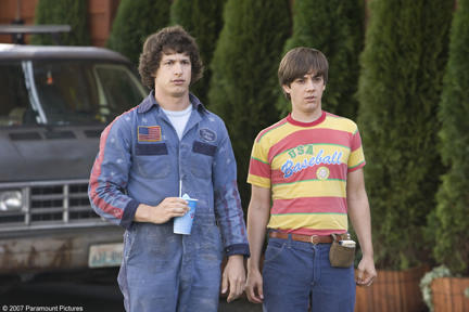 Andy Samberg and Jorma Taccone in