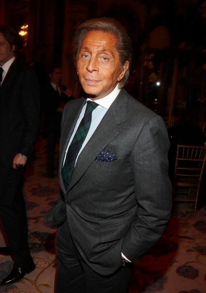 Valentino Garavani at the after party of the New York premiere of