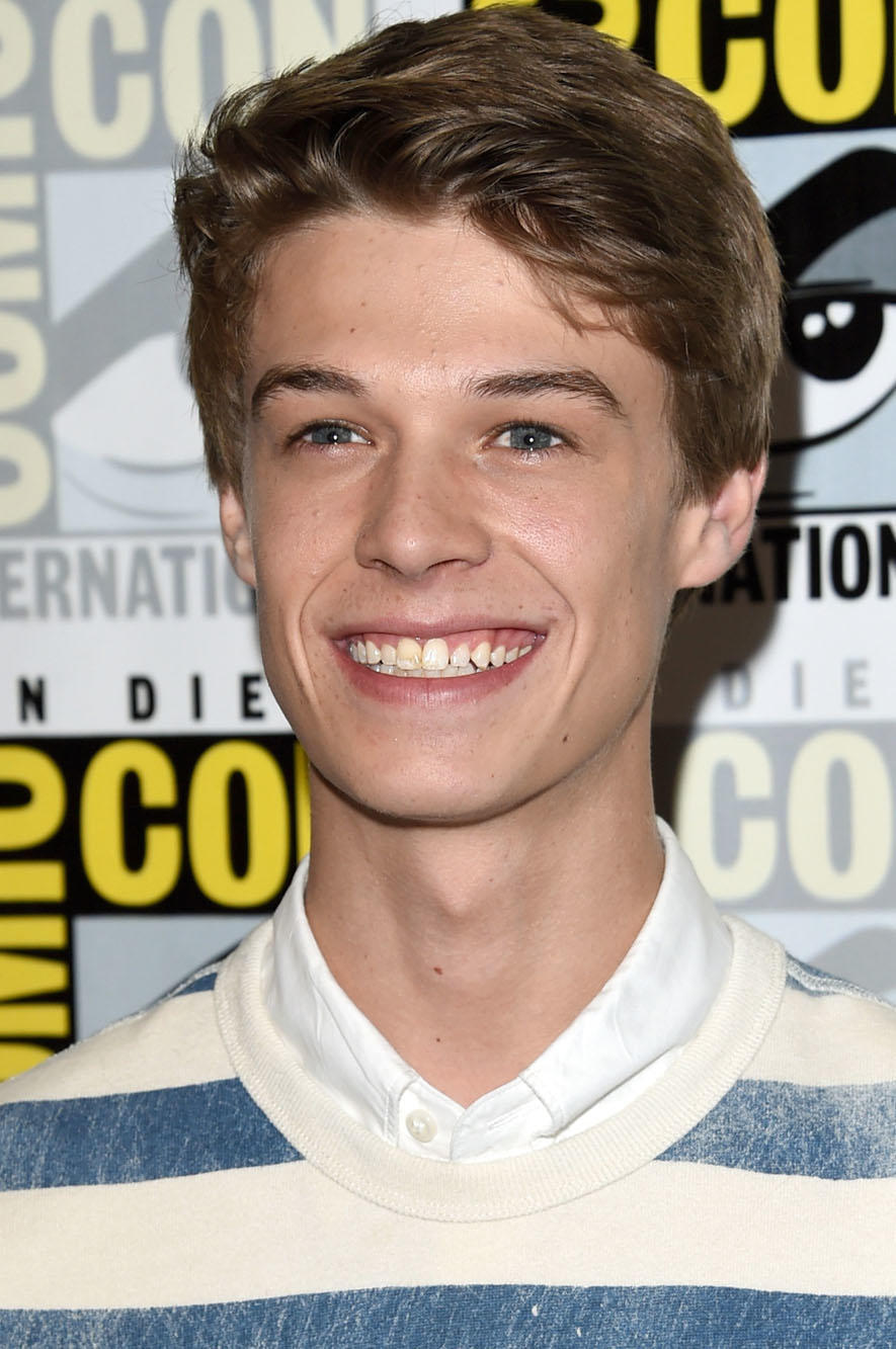 Colin Ford at the CBS Television Studios press room during Comic-Con International 2015 in San Diego, California.