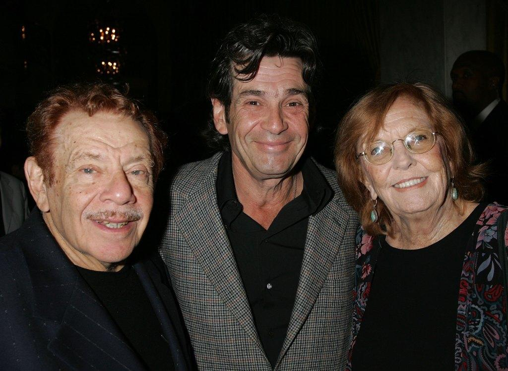 Jerry Stiller, Alan Rosenberg and Anne Meara at the Museum of Television Radio's Annual Los Angeles gala.