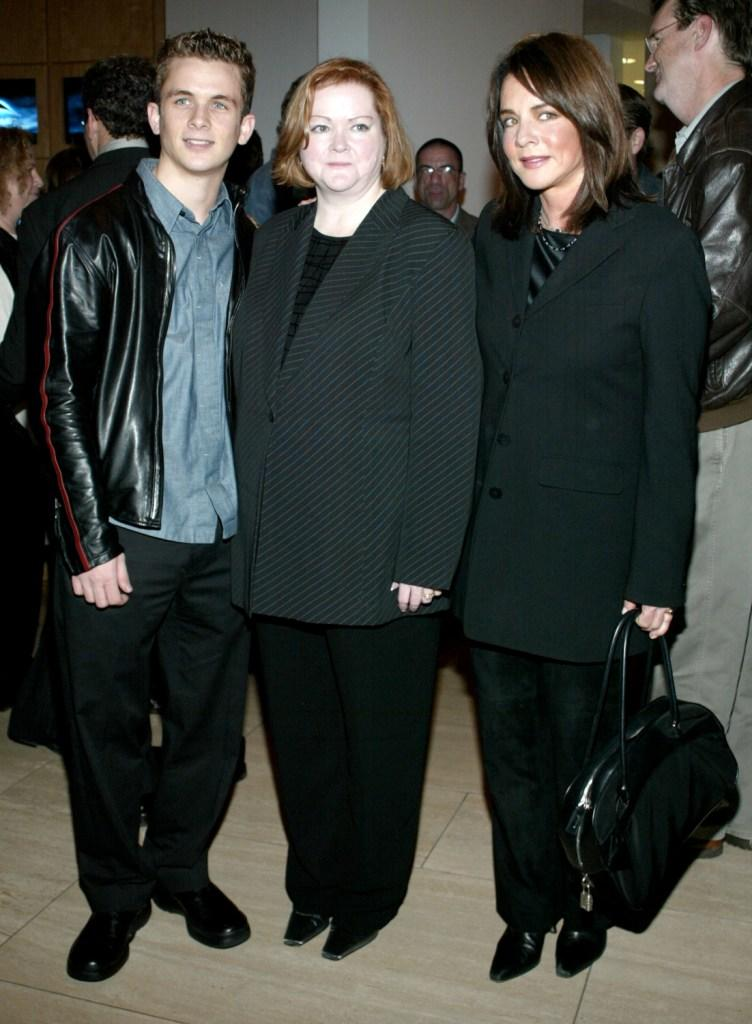 Shane Meier, Judy Shepard and Stockard Channing at the premiere of