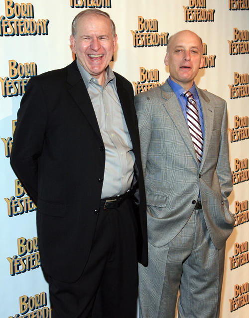 Terry Beaver and Frank Wood at the after party of Broadway opening night of the