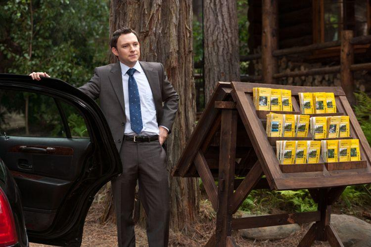 Nate Corddry as the Chief of Staff in