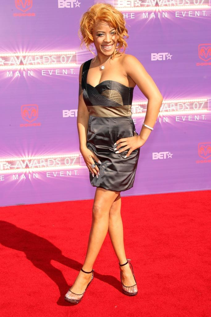 Keyshia Cole at the 2007 BET Awards.