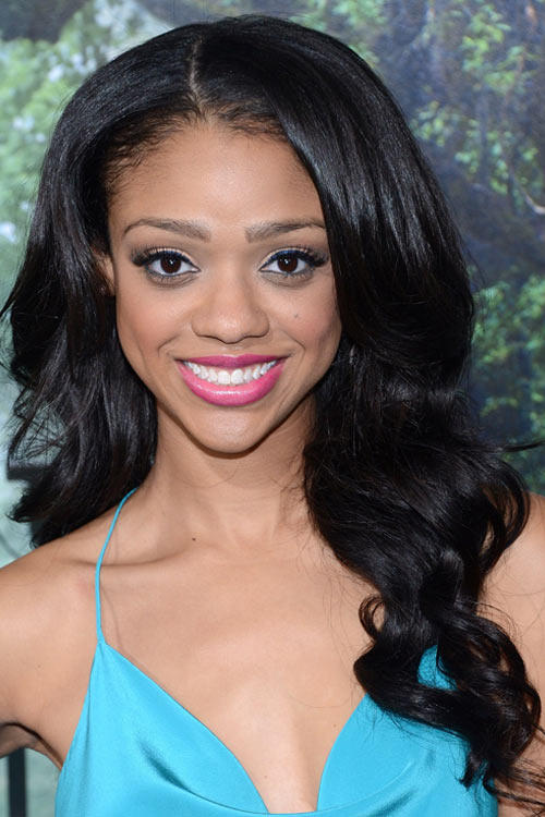 Tiffany Boone at the California premiere of
