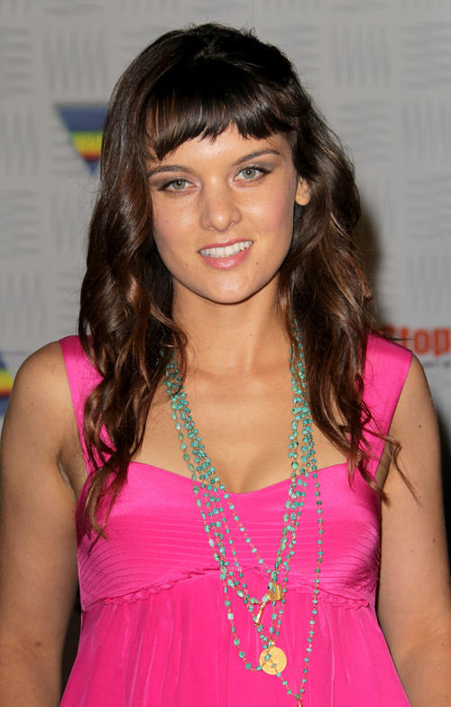 Frankie Shaw at the Spike TV's 2010 Video Game Awards.