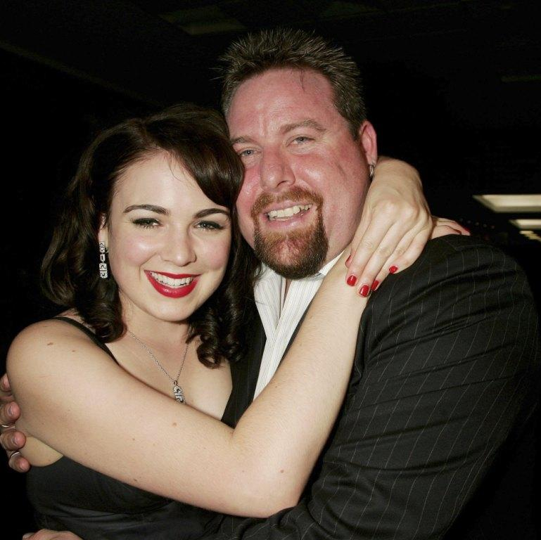 Emily Barclay and Shane Jacobson at the 2006 Hisense Inside Film Awards.