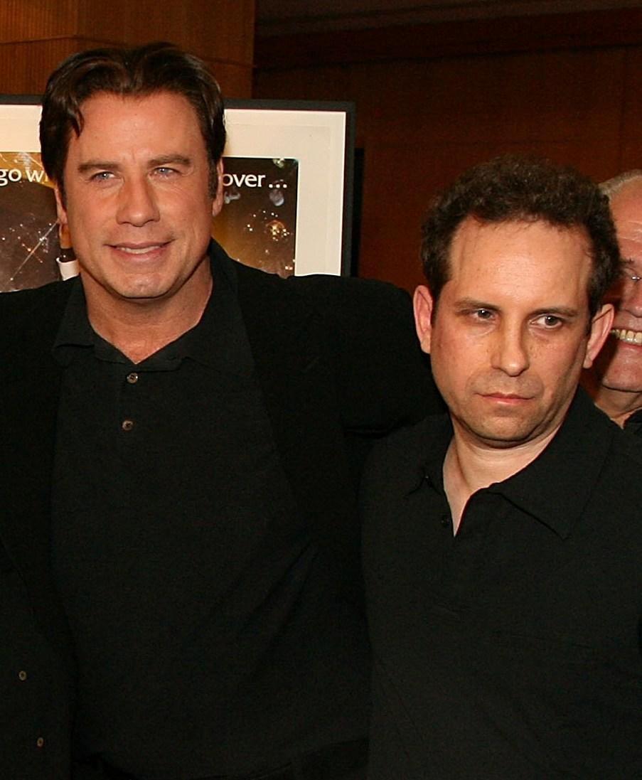 John Travolta and Barry Miller at the 30th anniversary screening of
