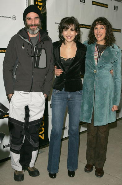 Daniel Day-Lewis, Camilla Belle and Rebecca Miller at the premiere of