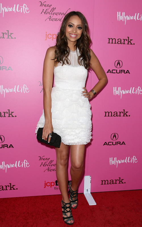 Amber Stevens at the 12th Annual Young Hollywood Awards.
